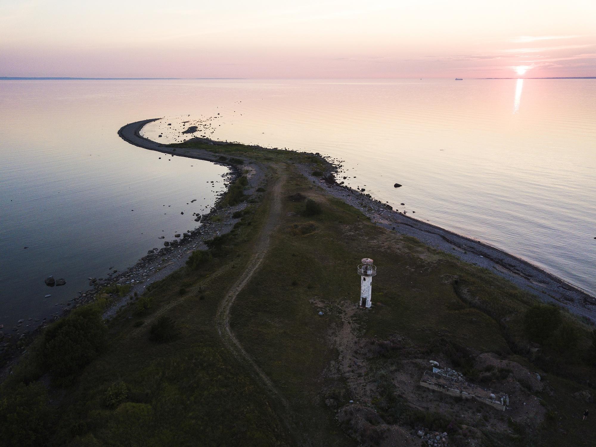 Sunset in Neeme, Estonia