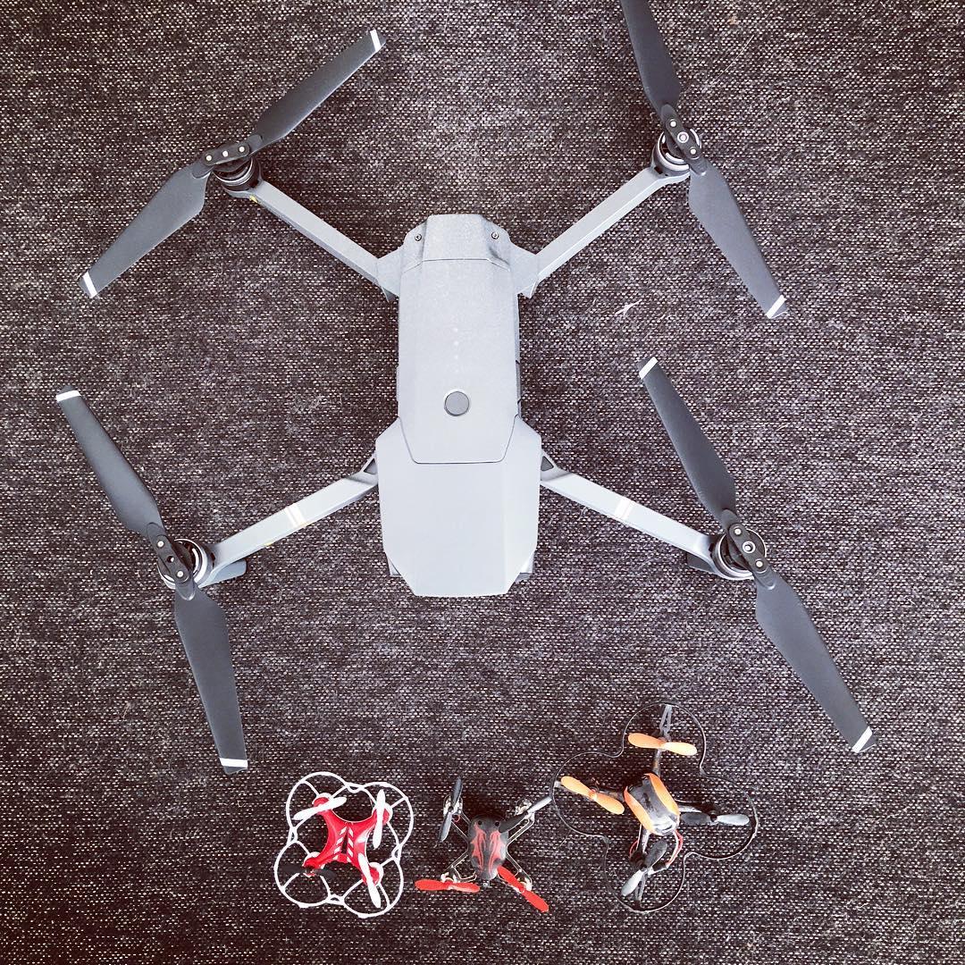 Mavic Pro and mini drones