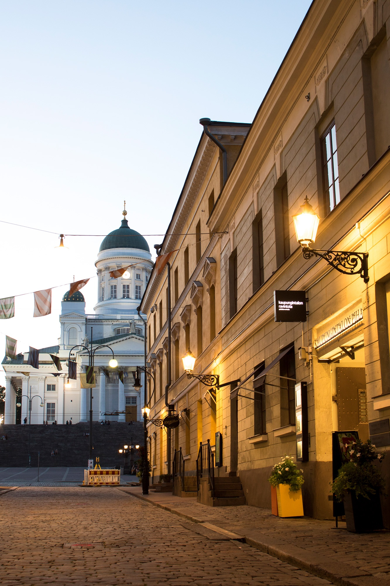 Old Helsinki, the senate square and Helsinki Cathedral