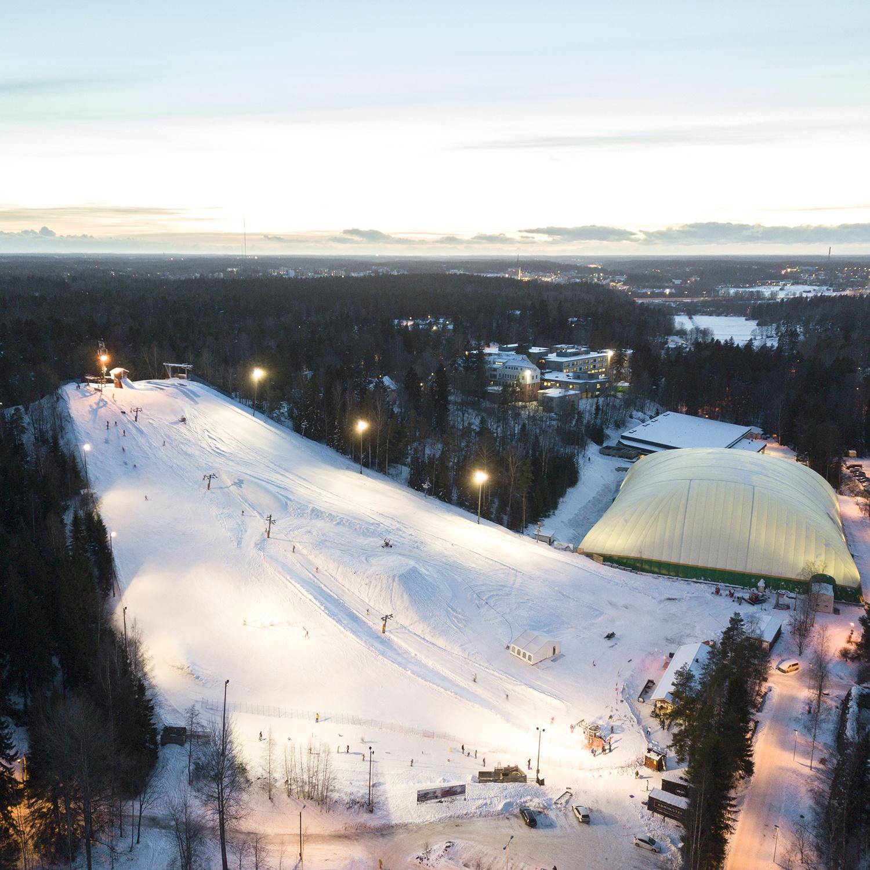 The oldest ski slope in Finland