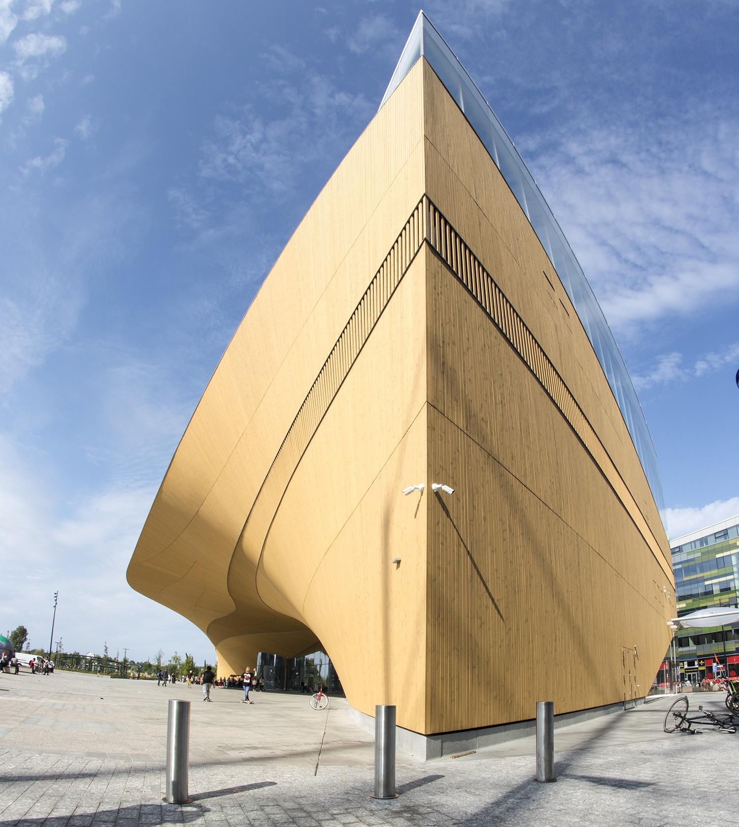 The Oodi library of Helsinki